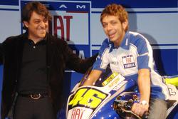 Luca de Meo and Valentino Rossi