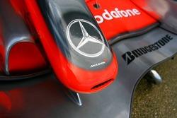 McLaren Mercedes, Front wing/ Nose
