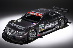 The new AMG-Mercedes C-Class for the 2007 DTM, based on the new Mercedes-Benz C-Class, presented at the Geneva Motor Show