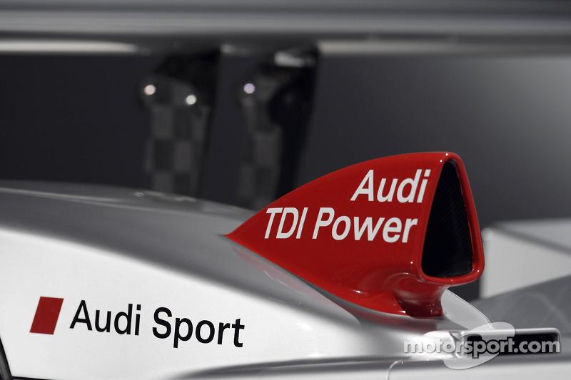 Détail de l'Audi R10 2007