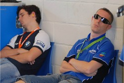 The excitement is too much for some Team personnel