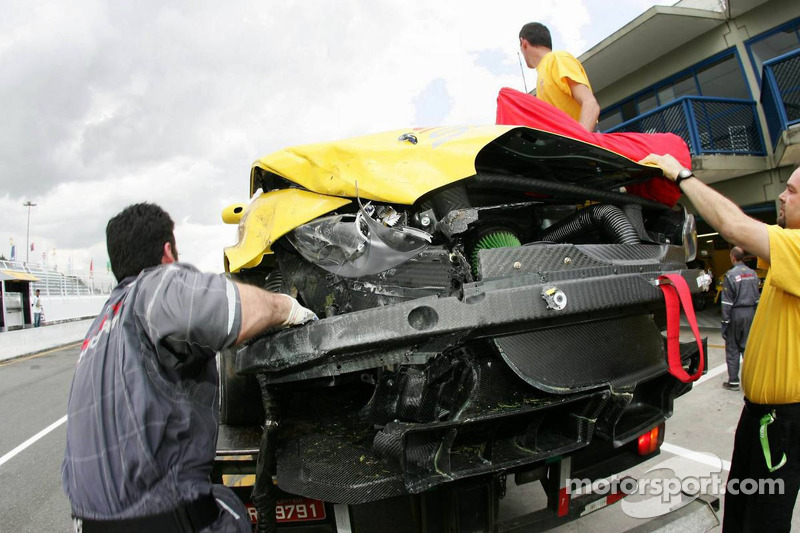 Seat Leon accidenté