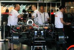 Stand McLaren Mercedes