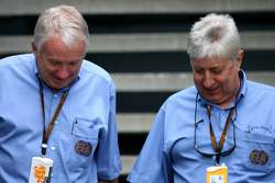 Charlie Whiting and Herbie Blash