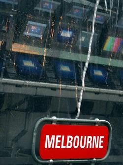 Rain in Melbourne