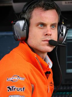 James Robinson, Spyker F1 Team, Chief Engineer