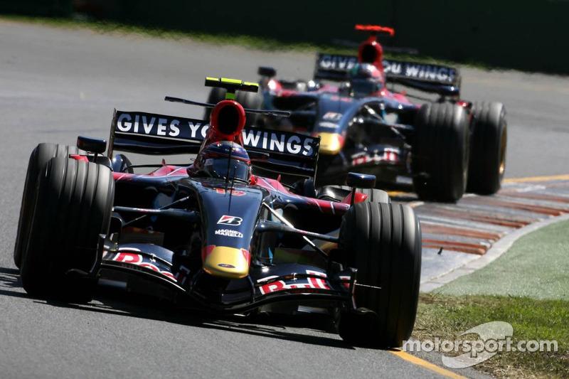 Scott Speed, Scuderia Toro Rosso, Vitantonio Liuzzi, Scuderia Toro Ross