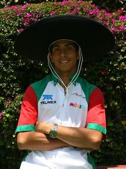 Salvador Duran, Driver of A1Team Mexico