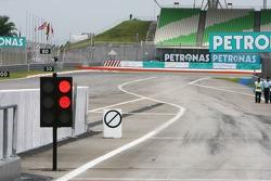 Pit exit