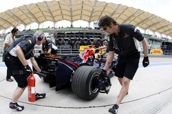 David Coulthard and mechanics