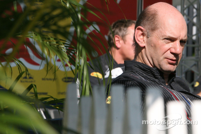Chief technical officer Adrian Newey