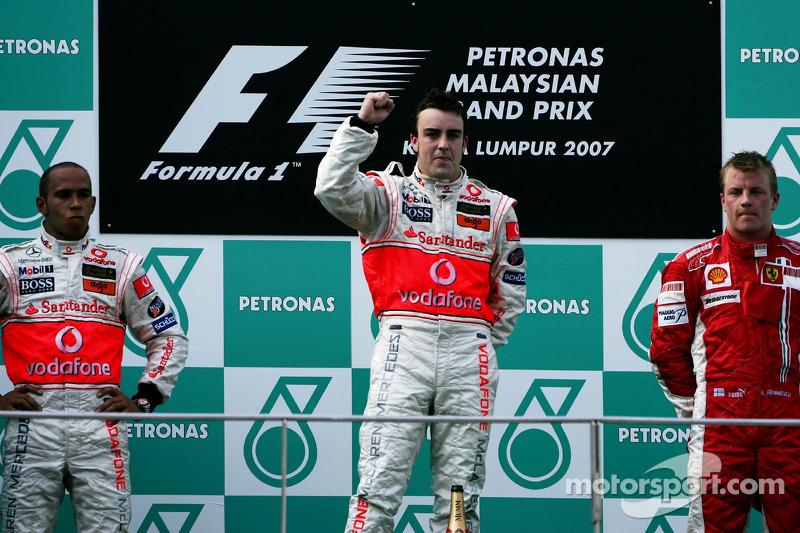2- Gran Premio de Malasia 2007 (2º), McLaren
