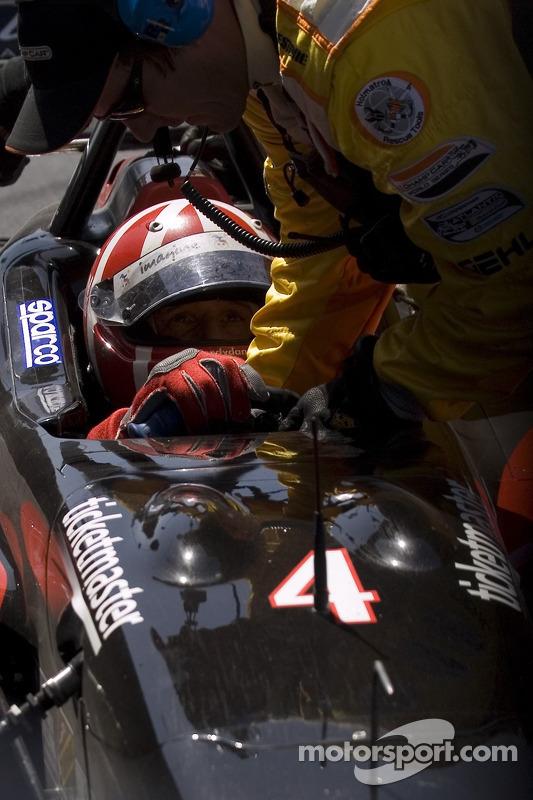 Dan Clarke out of the race