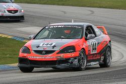 #144 Davis Motorsports Acura RSX - S: Bob Endicott, Ken Dobson