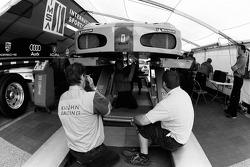Risi Competizione Ferrari 430 GT at tech inspection