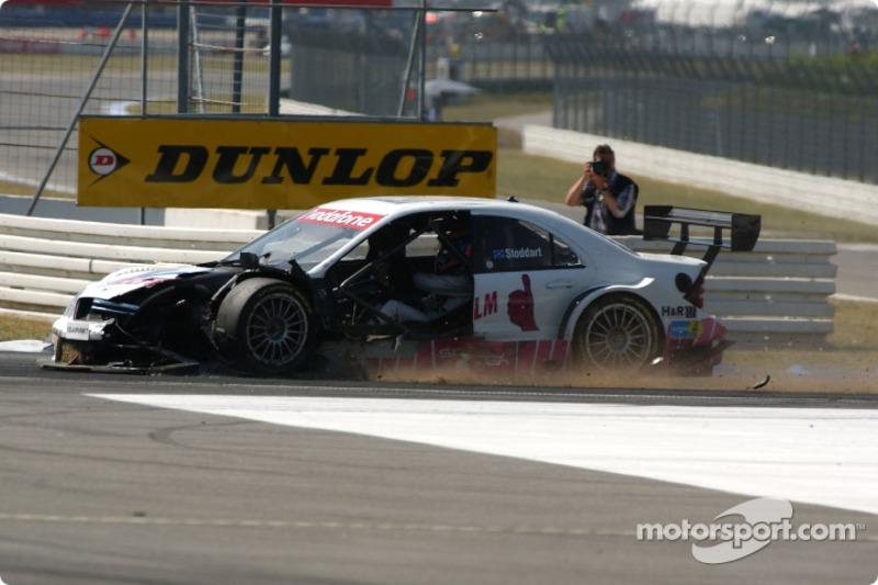 Susie Stoddart impliqué dans l'accident du premier tour à Hockenheim 2007
