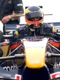 Filipe Albuquerque, Red Bull Racing Showcar in Columbia