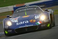 #12 Scuderia Playteam Sarafree Maserati MC 12 GT1: Giambattista Giannoccaro, Alessandro Pier Guidi