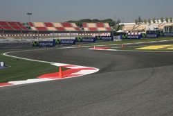 New chicane before last corner