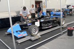 JDC team prepares Dane Cameron's car