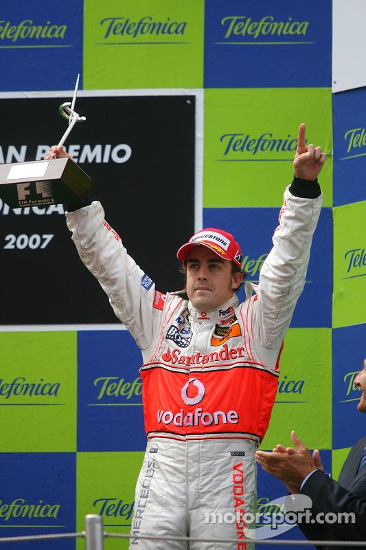 Podium : Fernando Alonso