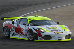 #31 Petersen White Lightning Ferrari 430 GT: Tomas Enge, Darren Turner, Michael Petersen