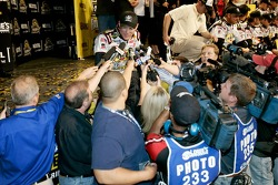 Victory lane: interviews for race winner Kevin Harvick