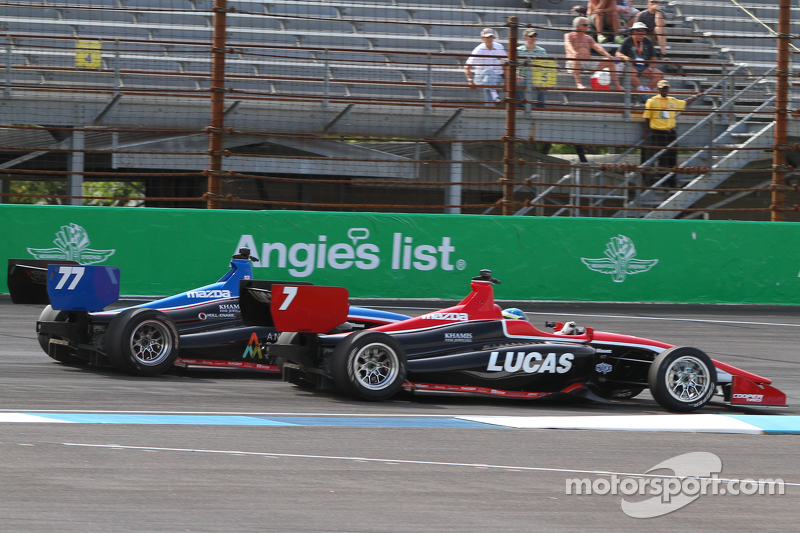 Scott Anderson, Schmidt Peterson Motorsports, und R.C. Enerson, Schmidt Peterson Motorsports