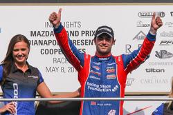 El ganador de la carrera, Jack Harvey, Schmidt Peterson Motorsports