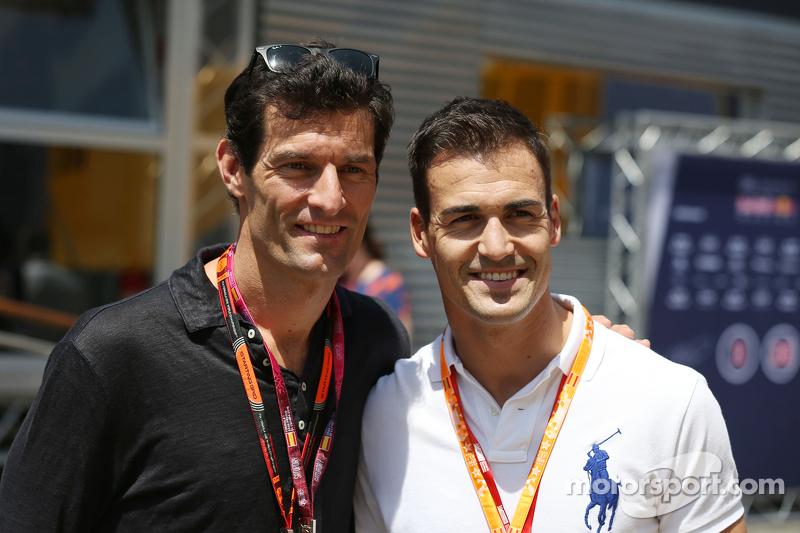 Mark Webber und Dani Sordo