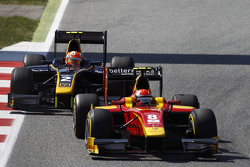 Alexander Rossi, Racing Engineering leads Alex Lynn, DAMS