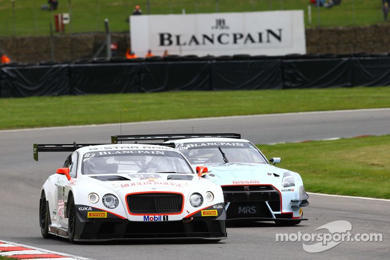 #83 Bentley Team HTP, Bentley Continental GT3: Olivier Lombard, Jules Szymkowiak