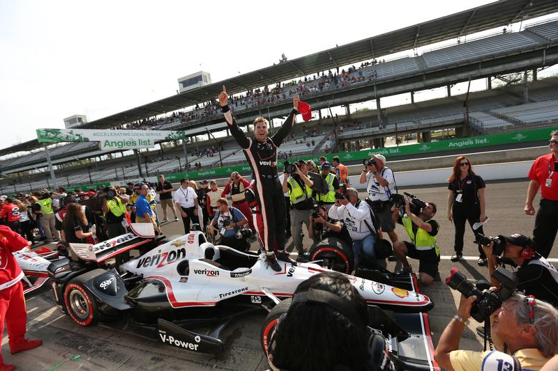 Il vincitore Will Power, Team Penske Chevrolet