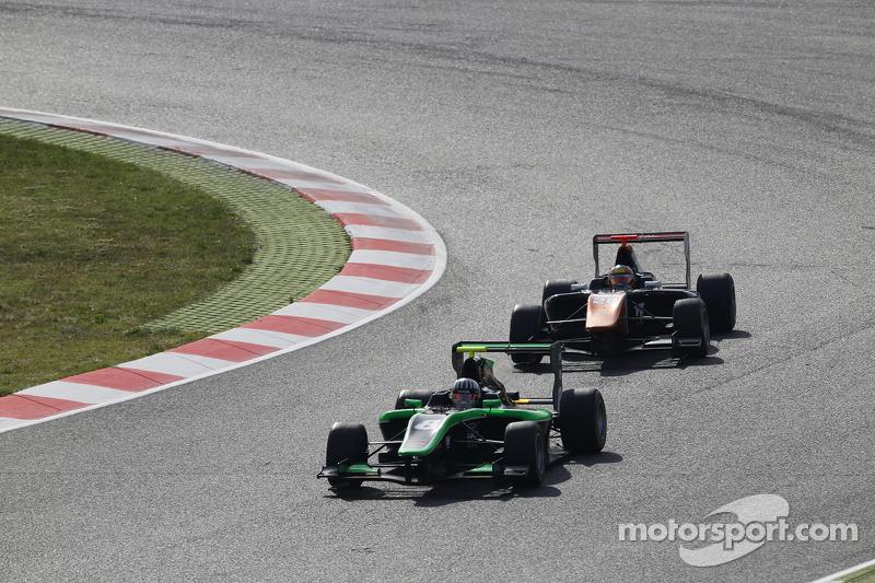 Alex Fontana, Status Grand Prix, und Oscar Tunjo, Trident