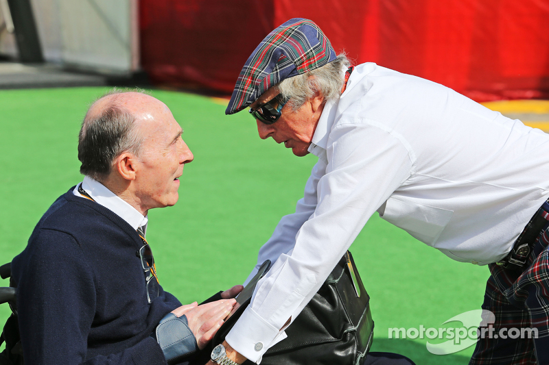 Гран При Испании, 8 мая. Сэр Фрэнк Уильямс и сэр Джеки Стюарт