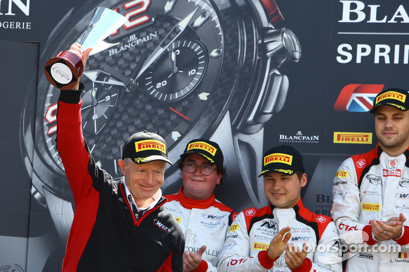 Pierre Dieudonne, менеджер команди Belgian Audi Sport Team WRT