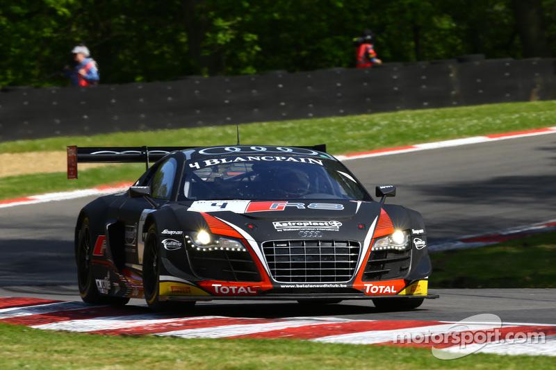 #4 Belgian Audi Club Team WRT, Audi R8 LMS Ultra: James Nash, Frank Stippler