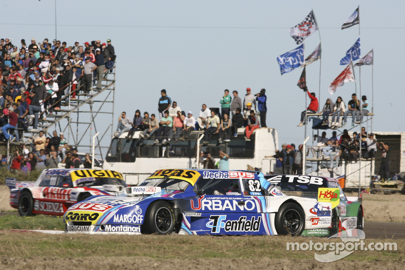 Mauricio Lambiris, Coiro Dole Racing, Torino; Jose Manuel Urcera, JP Racing, Torino, und Juan Manuel