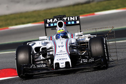 Felipe Massa, sensor del Williams FW37
