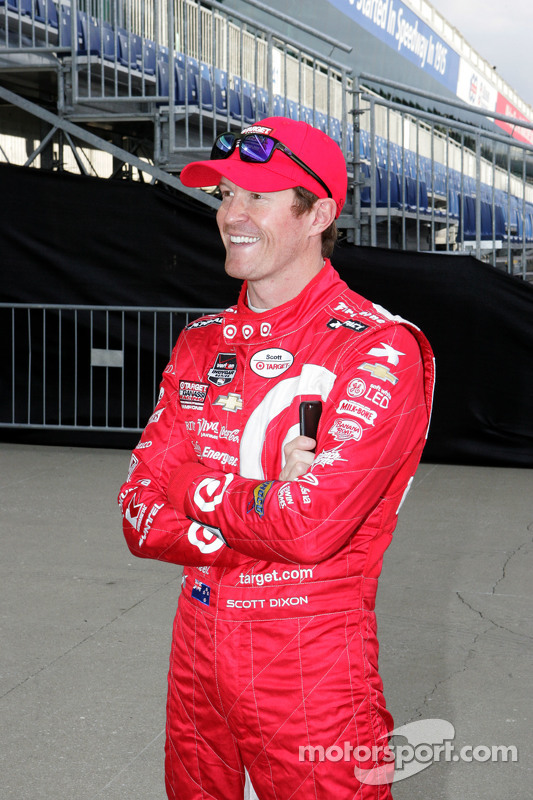 Chevrolet, Aerodynamik-Präsentation: Scott Dixon, Chip Ganassi Racing, Chevrolet