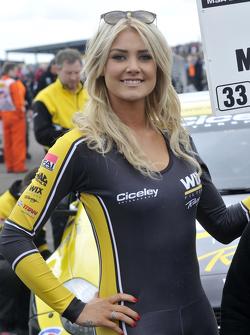 Wix Racing, Gridgirl