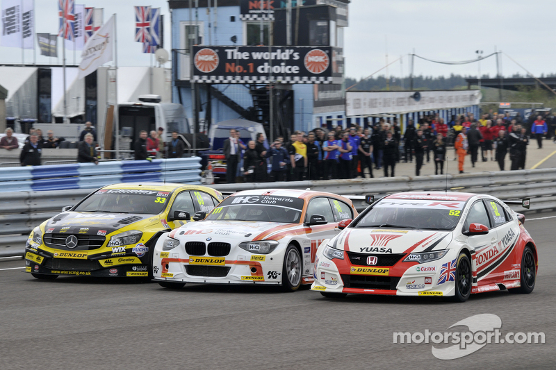 Adam Morgan, Andy Priaulx und Gordon Shedden