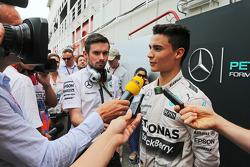Pascal Wehrlein, Mercedes AMG F1 Piloto de reserva con los medios de comunicación