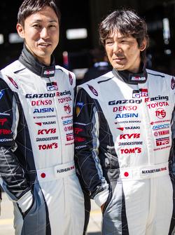 Gazoo Racing, Fotoshooting: Hiroaki Ishiura und Masahiko Kageyama