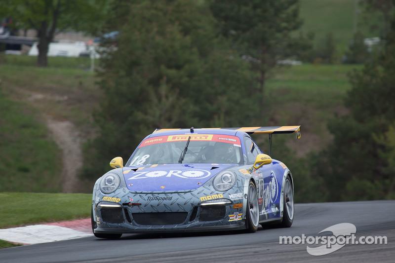 #18 TruSpeed Autosport, Porsche 911 GT3 Cup: Phill Fogg jr.