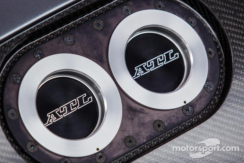 Der neue AMG GT3 ist ausgestellt