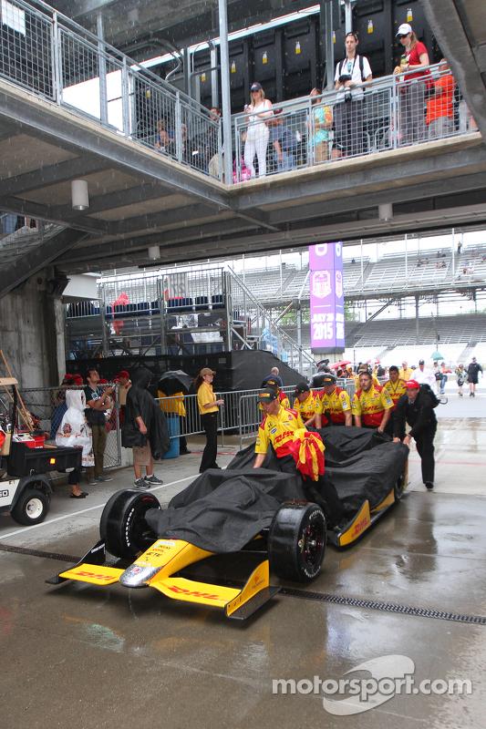 Chuva no Indianapolis Motor Speedway