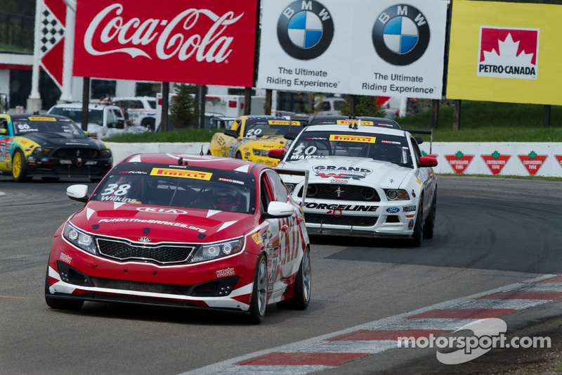 #38 Kinetic Motorsports / Kia Racing, Kia Optima: Mark Wilkins