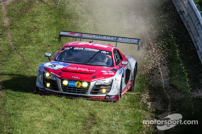 #15 Audi Race Experience, Audi R8 LMS ultra: Alex Yoong, Frankie Cheng, Marchy Lee, Shaun Thong mit Abflug