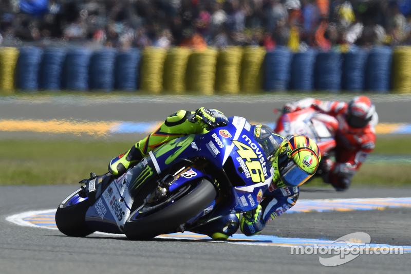 Valentino Rossi, Yamaha Factory Racing e Andrea Dovizioso, Ducati Team